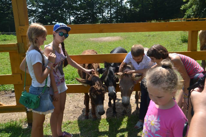 Caritas Kinder Camp Ukraine 2015